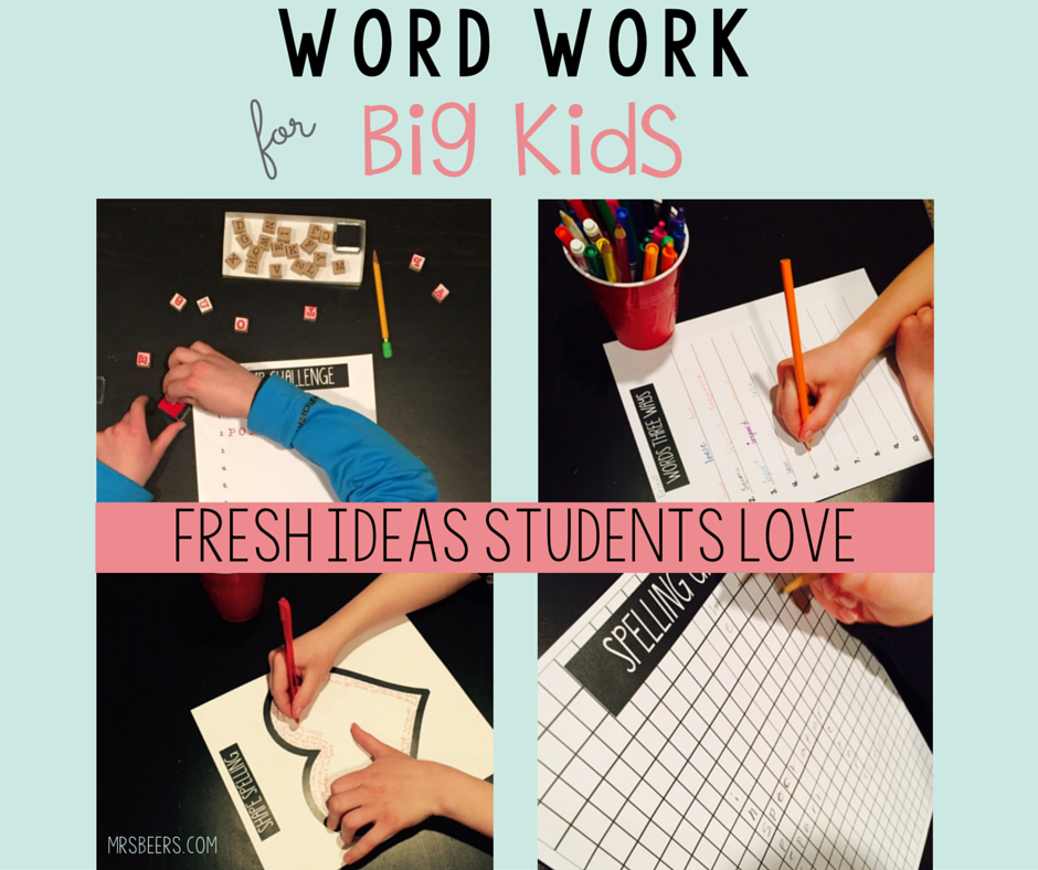 As a 6th grade teacher, I am always looking for ways to enhance my students' work with spelling and vocabulary. Whether you focus on a weekly spelling list or vocabulary word work, students …