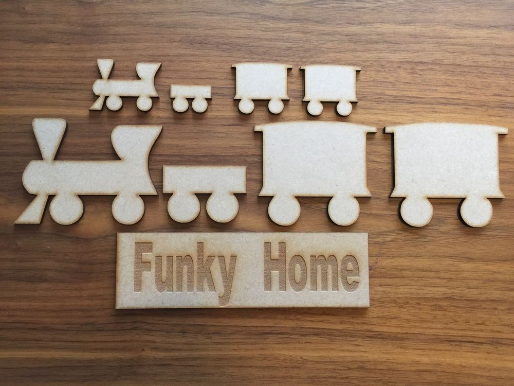 Wooden MDF Dog Bone Shapes 2cm 3cm 4cm 5cm dog bone craft shape Bulk pack