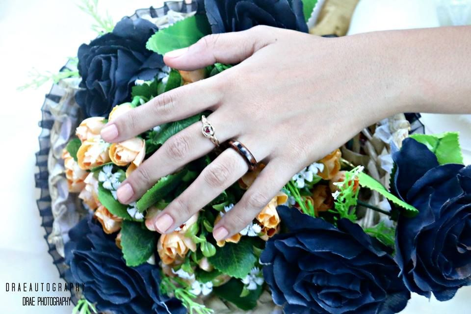 Wooden Wedding Ring