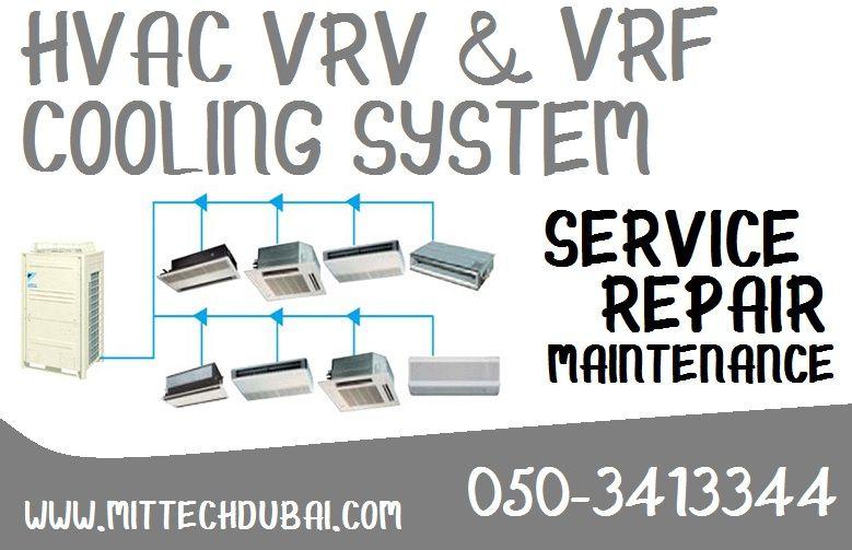 Hvac Vrv Vrf Cooling System Package Chiller Full General Service