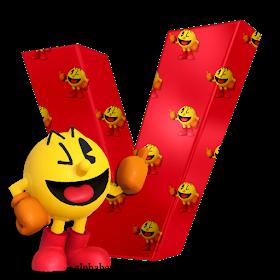 Monica Michielin Alfabetos Red Super Smash Bros Nintendo Pacman Alphabet Numbers And Icons Png Pacman Super Smash Bros Smash Bros Alphabet