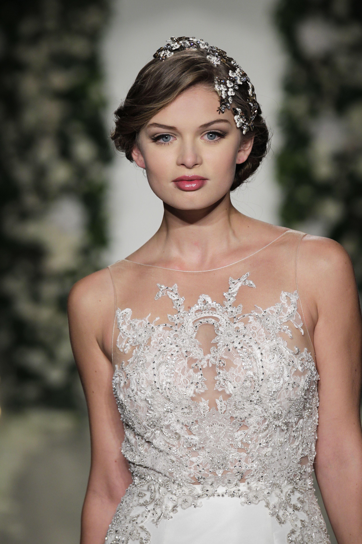 Hair Accessory Paris By Debra Moreland Wedding Gown