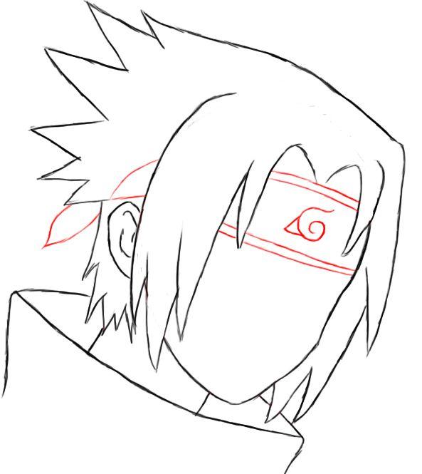 How To Draw Sasuke | Projects to Try | Sasuke drawing ...