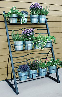 Merveilleux Tiered Garden Racks Are A Great Option For Adding A Touch Of Green To Any  Space