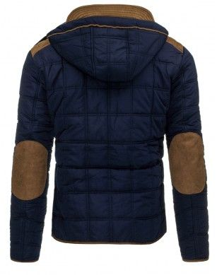 Pánska zimná bunda (tx1375) - granátová  0afd0e22a21