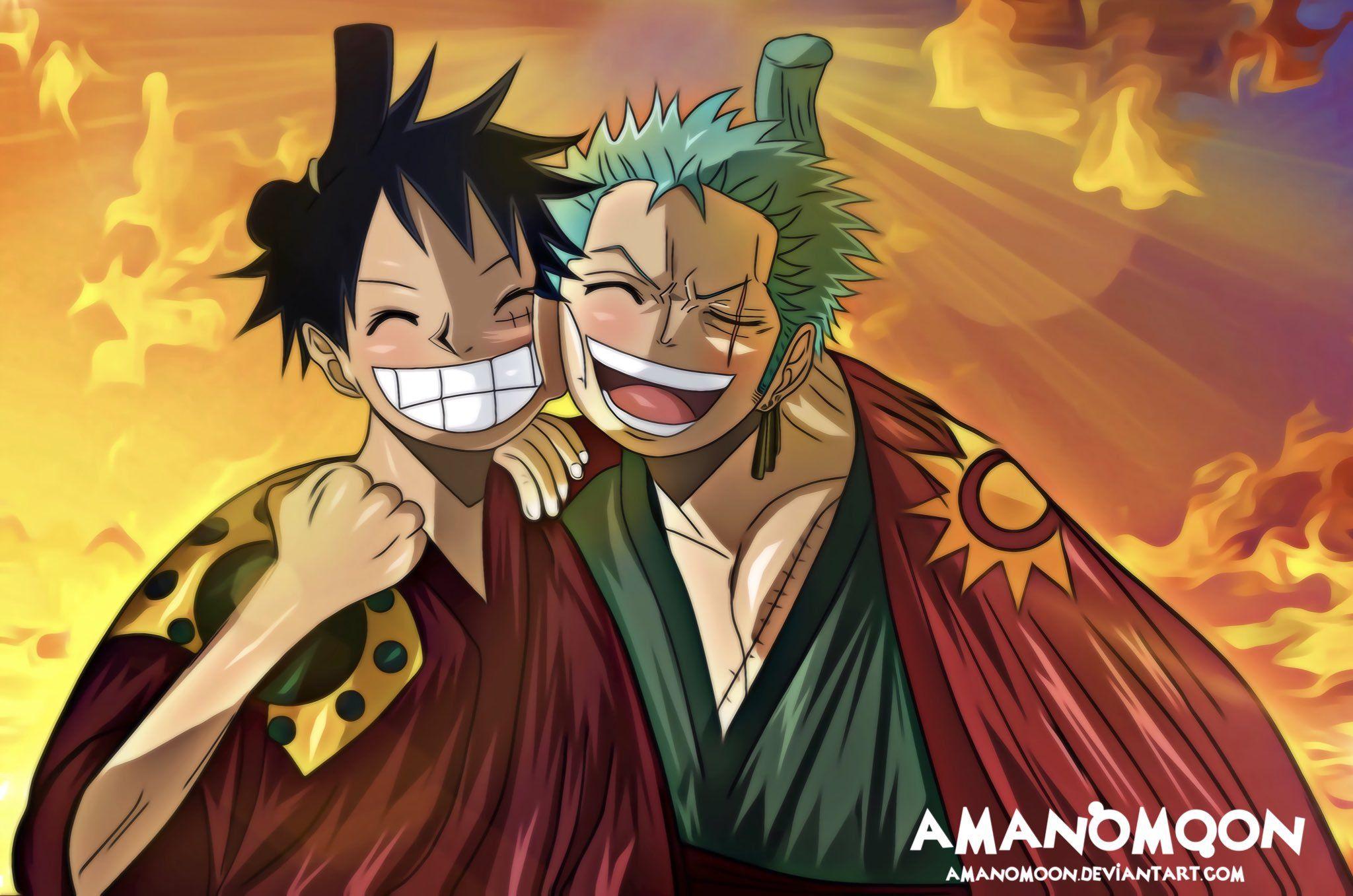 Wallpaper Hd One Piece Zoro Wano