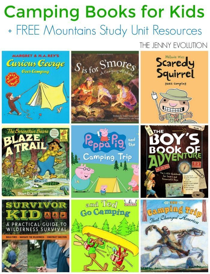 childrens camping books free mountains study unit resources the jenny evolution