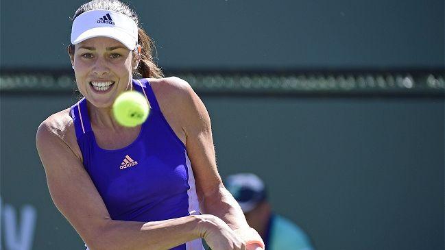 Ana Ivanovic fue eliminada de Indian Wells por Caroline García - Cooperativa.cl
