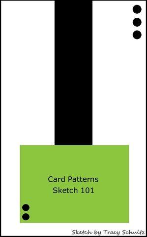 Card Patterns: Sketch #101