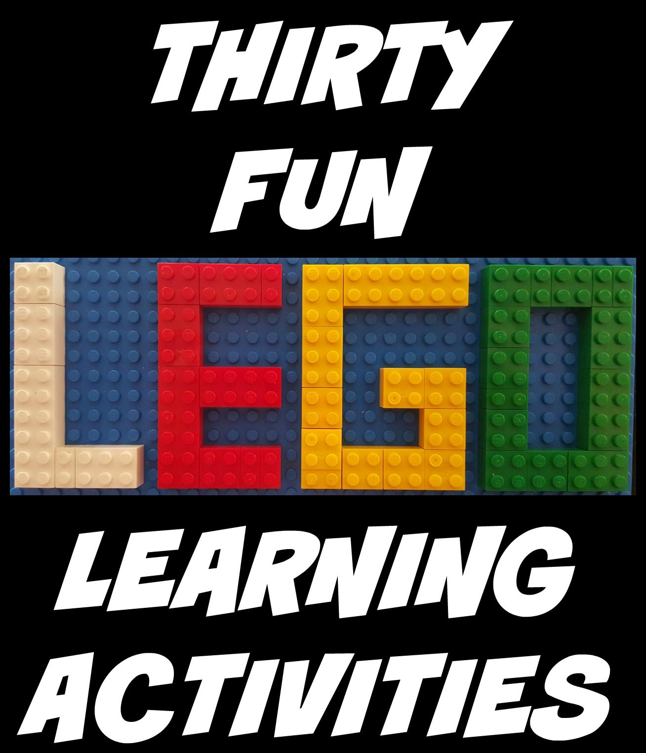 30 Fun Lego Learning Activities
