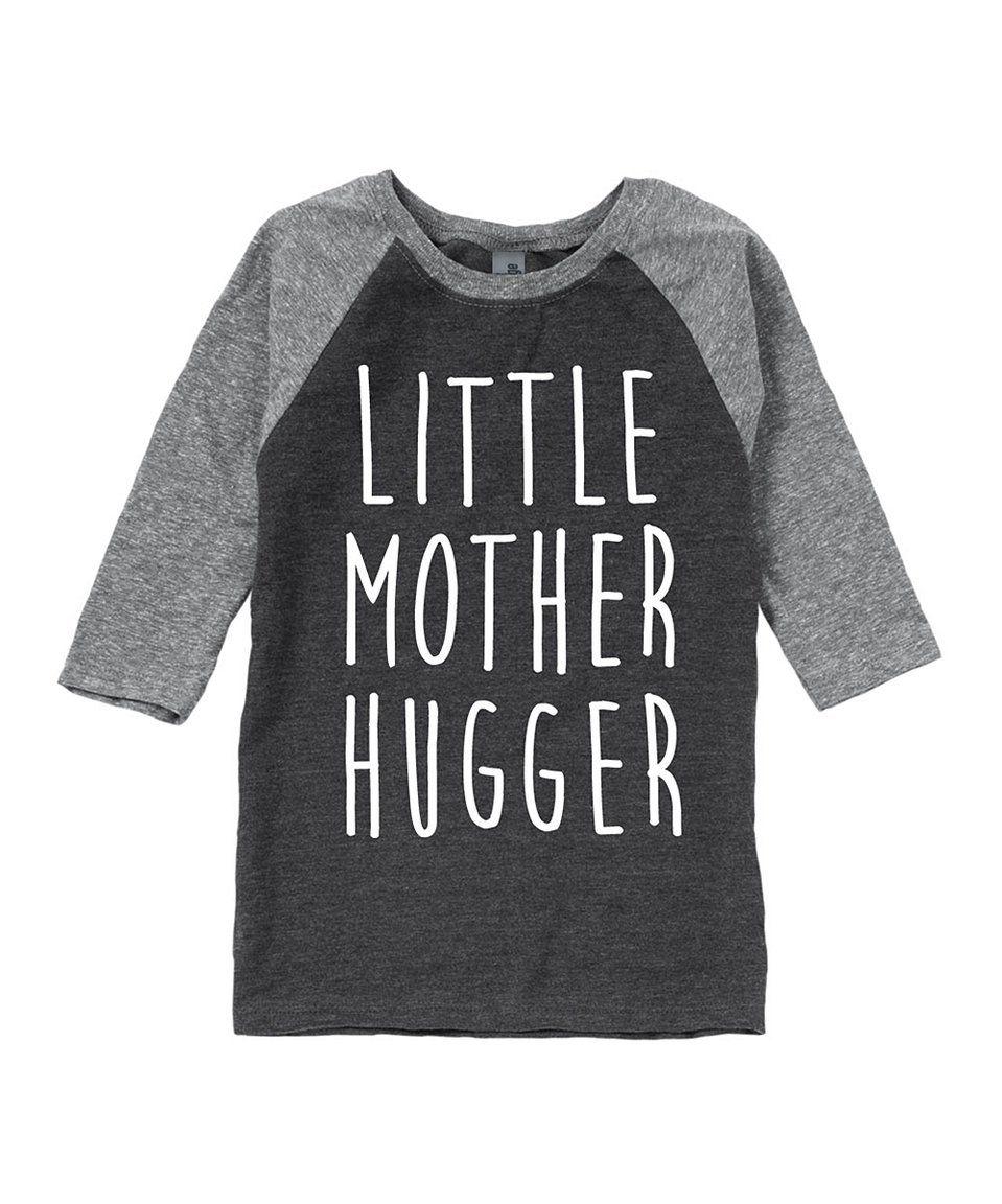 Take a look at this Charcoal   Athletic Heather  Hugger  Raglan Tee -  Toddler. Armario De NiñosNiños PequeñosCamiseta ... 261408bf5ab