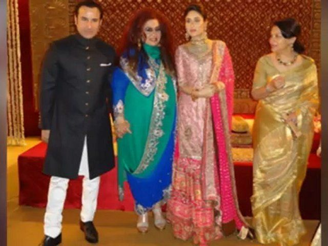 Saif Ali Khan Kareena Kapoor S Delhi Wedding Reception