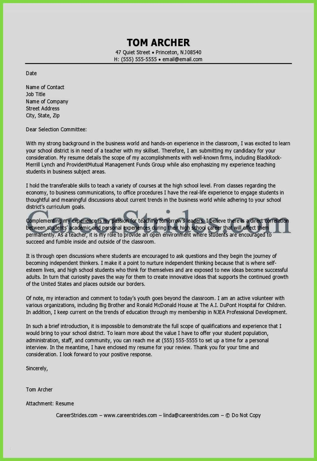 79 Unique Stock Of Resume Examples For Toddler Teachers