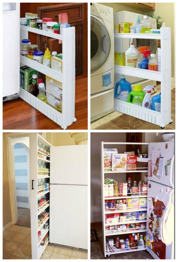 Build Your Own Slide Out Storage Unit Diy Cozy Home