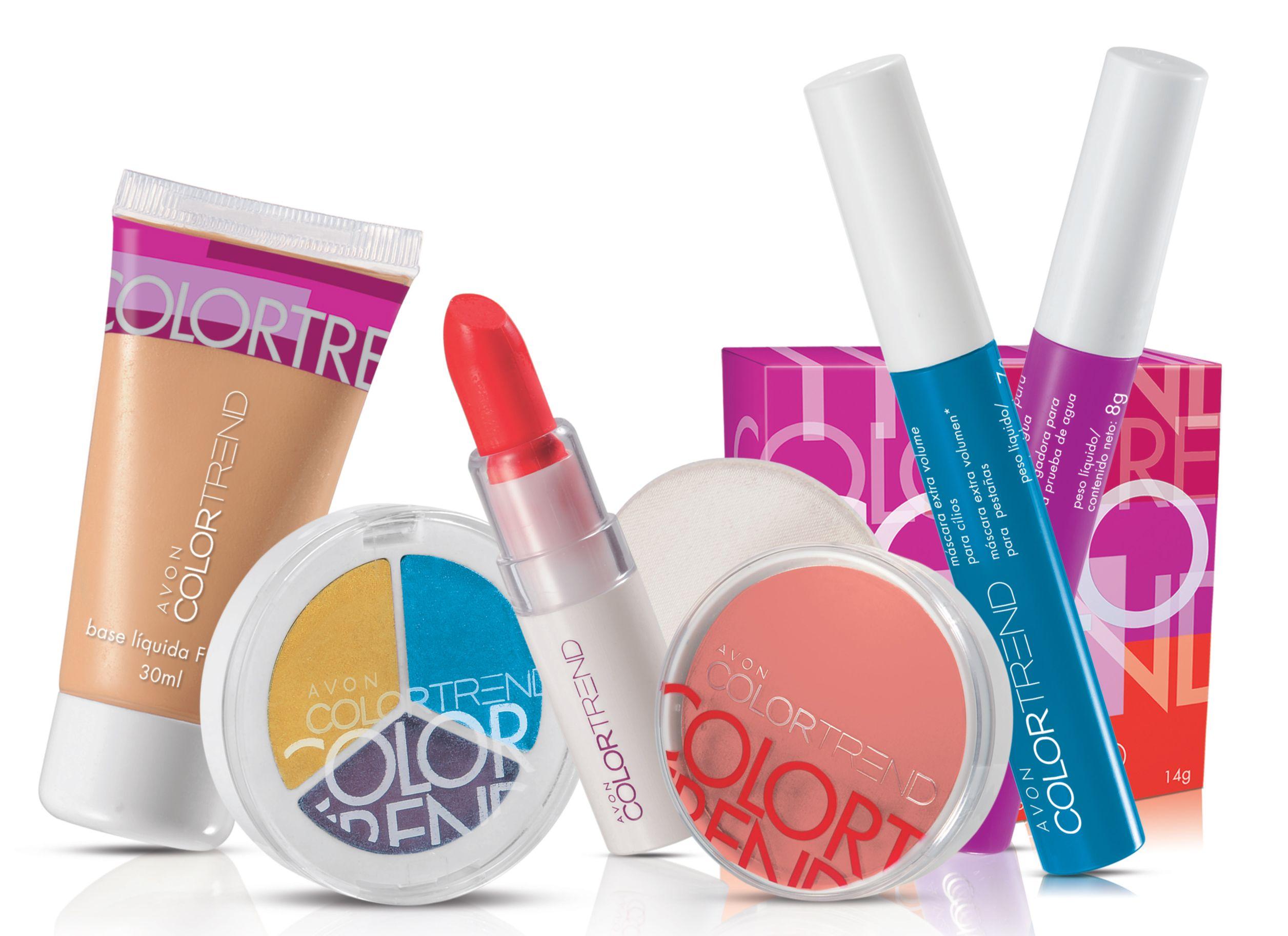 Avon makeup color trend купить профессиональную косметику для тела саратов