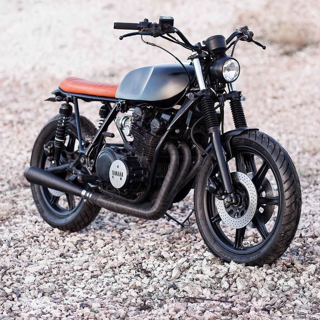 Bikebound Yamaha Xs750 By Jadusmotorcycleparts Who Is Making Some Sweet Parts For The Yamaha Thumpers Check Brat Bike Yamaha Cafe Racer Cafe Racer Helmet [ 1080 x 1080 Pixel ]