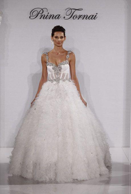 New Pnina Tornai Wedding Dresses Fall 2012
