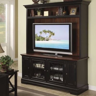 Riverside Furniture Anelli 60 Entertainment Center In Vintage