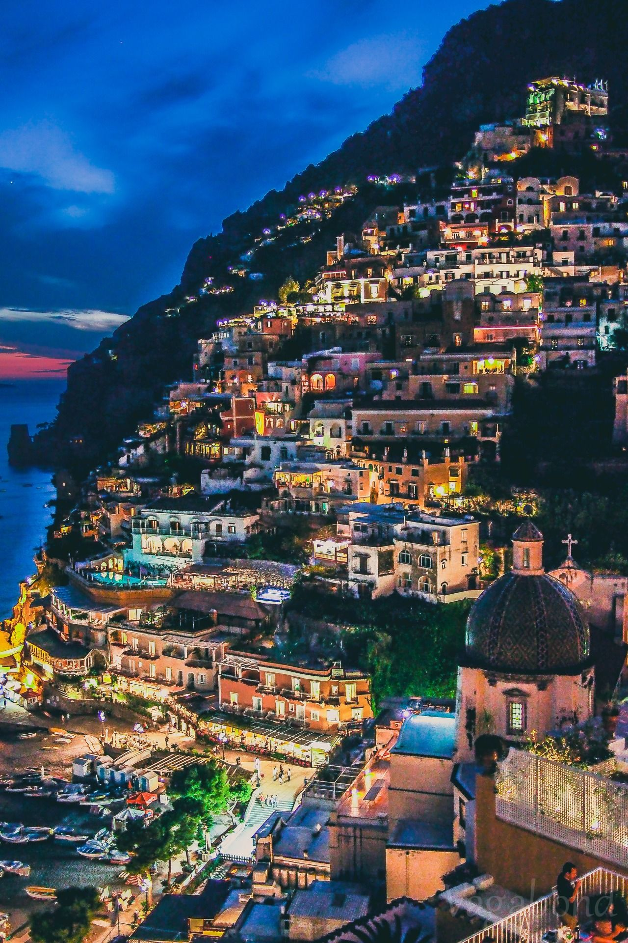 "amanaboutworld: "" Gem of Italy - Positano For more original travel photography, follow amanaboutworld.tumblr.com """