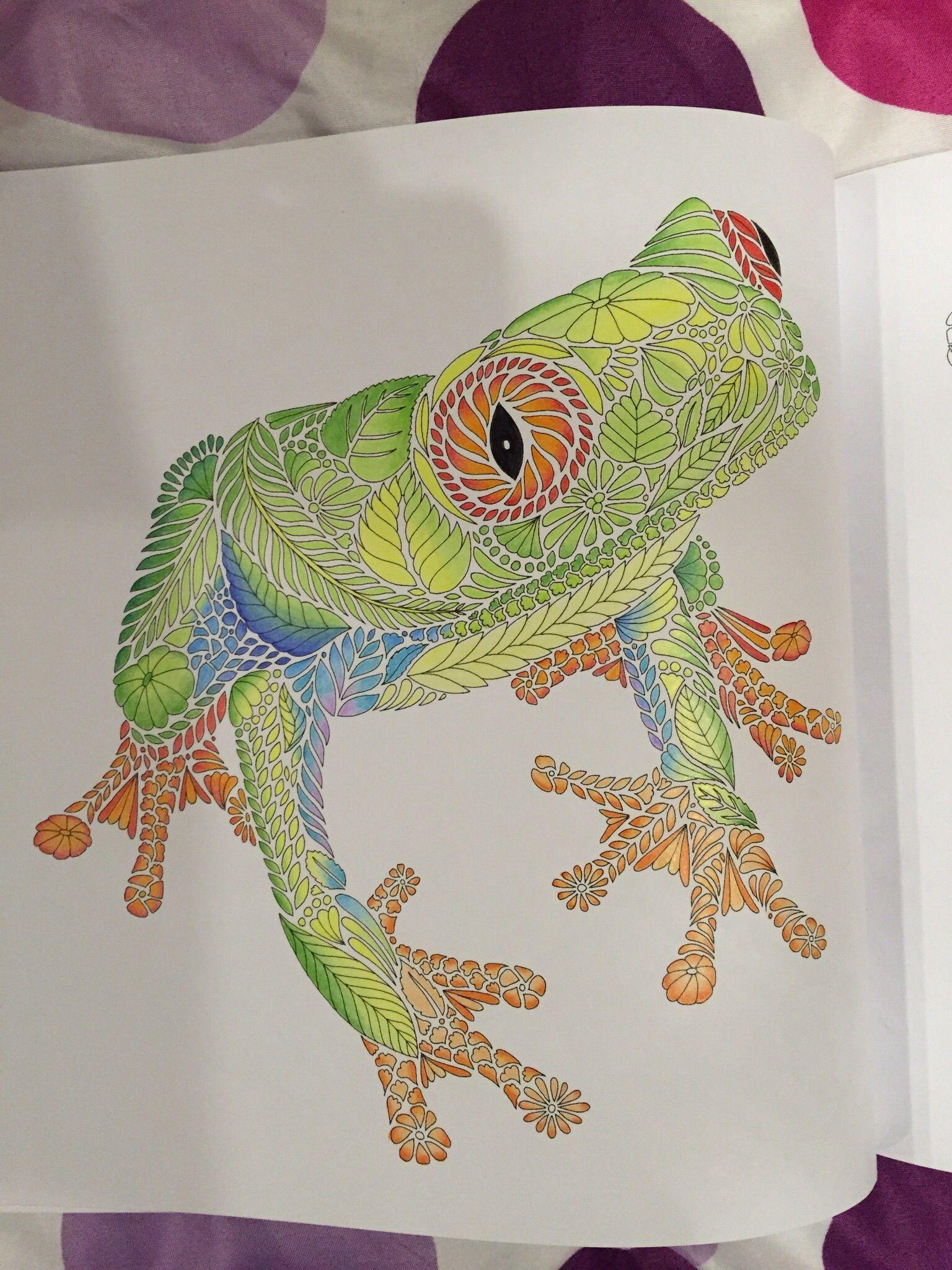 Millie Marotta Tropical Wonderland Coloring Book
