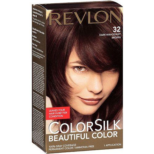 Find huge savings on Revlon dark mahogany brown hair color ...