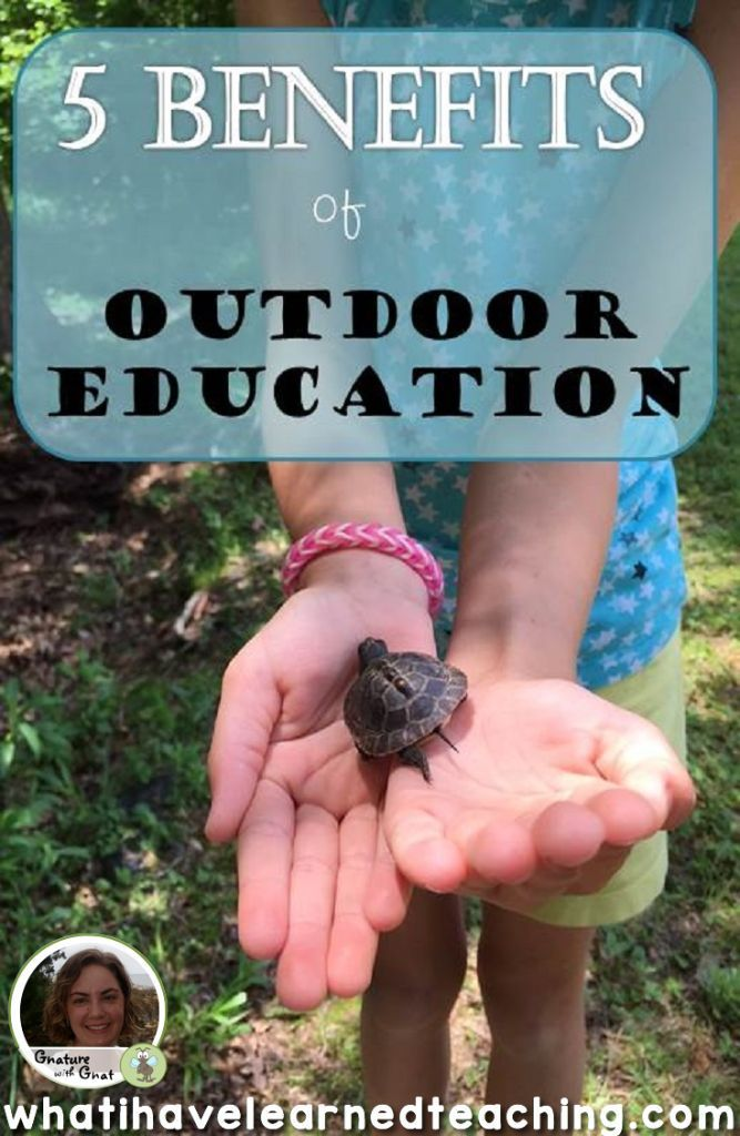 5 Benefits of Outdoor Education
