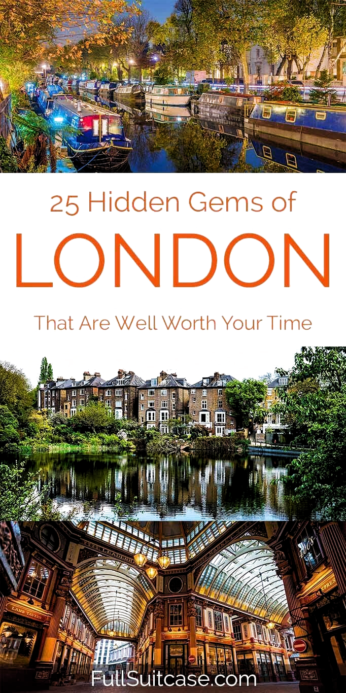 Amazing secret places in London that most tourists never see. Great local finds in London - read more! #london #visitengland #visitlondon #offthebeatenpath #secretplaces #hiddengems #londontravel #uk