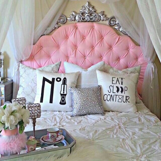 Pretty Room Decorations Pink Girls Bedroom Ideas Pretty: Pink Girly Glam Diva Room