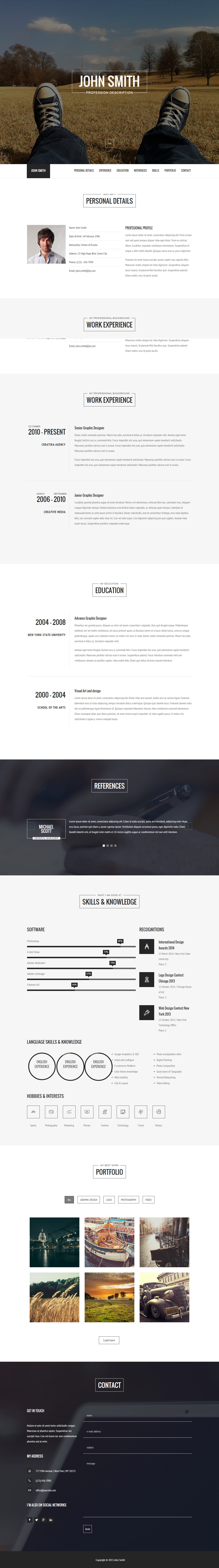 Wordpress Resume Theme Versus Resume  Premium Responsive Cv WordPress Theme  Webdesign .