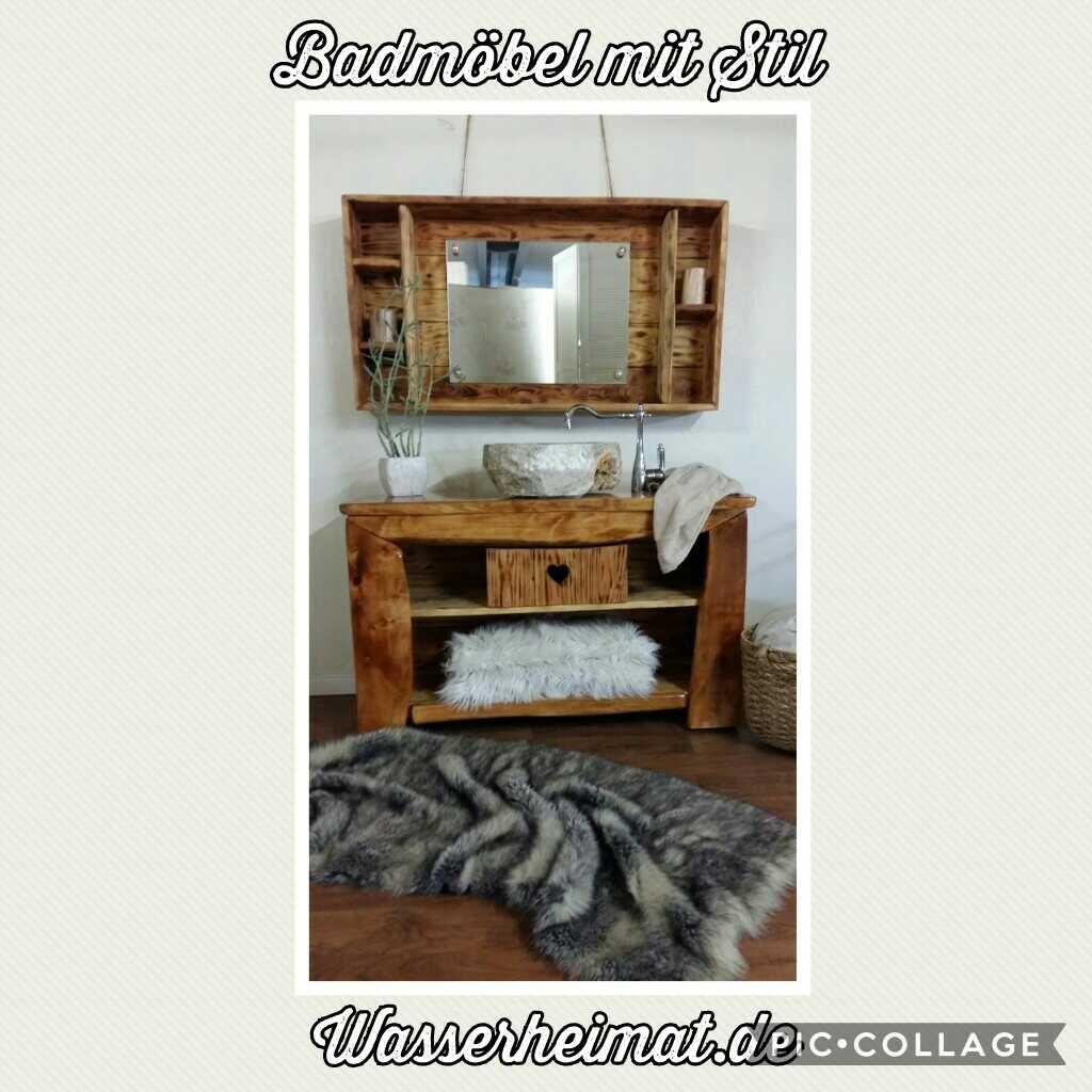 Badmöbel Rustikal badmöbel rustikal schaffen ein warmes ambiente durch naturholzmöbel