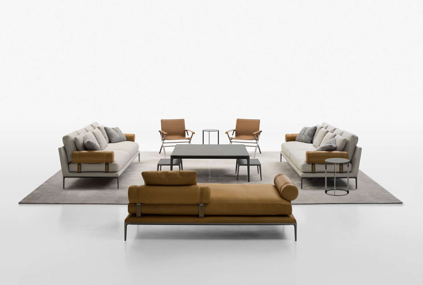 Sofa B B Atoll B B Italia Design Of Antonio Citterio With