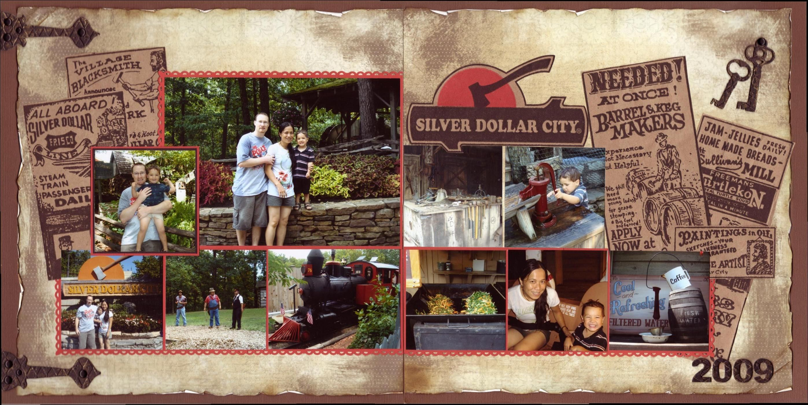 How to scrapbook yahoo - Scrapbook Layouts For Silver Dollar City Yahoo Image Search Results