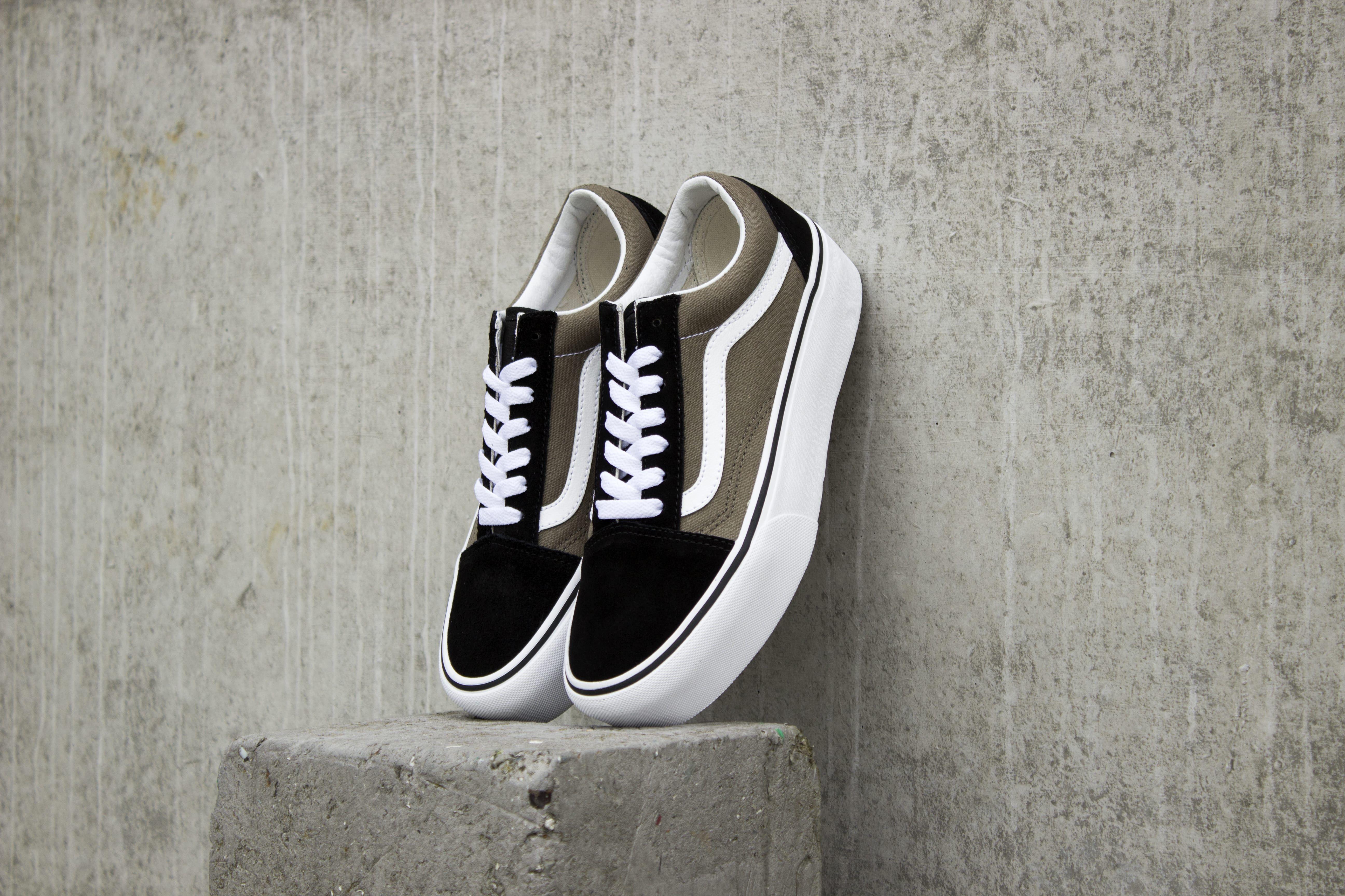 Vans Old Skool Platform | Grape Leaf | Dames | Vans sneakers ...