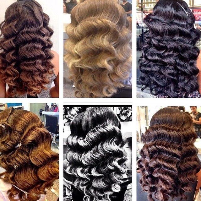 SnapWidget | Waves on Wednesday? Check out @hairsalonm for some perfect @fingerwaves and @chignons