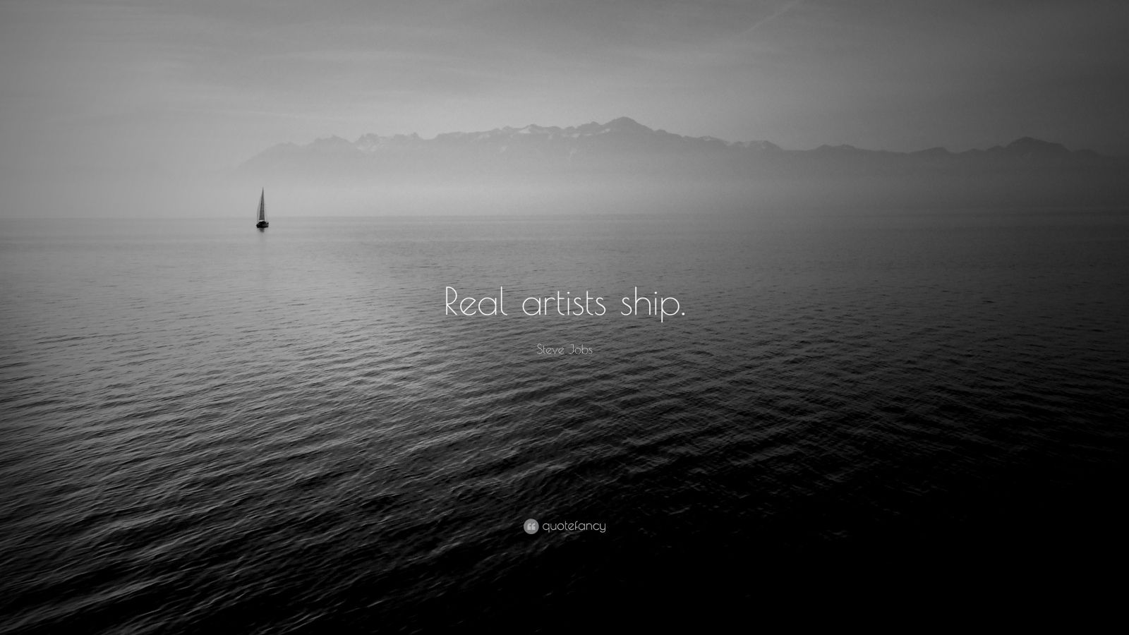 """Ship Quotes Steve Jobs Quote """"Real Artists Ship.""""  Wörter  Pinterest"""