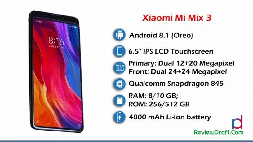 Xiaomi Mi Mix 3 Price In Bangladesh Full Specification Review Draft Xiaomi Premium Smartphone Mixing
