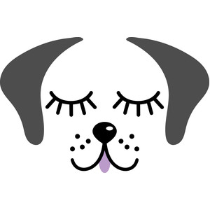 Silhouette Design Store Browse My Designs Outline Art Puppy Face Outline Drawings