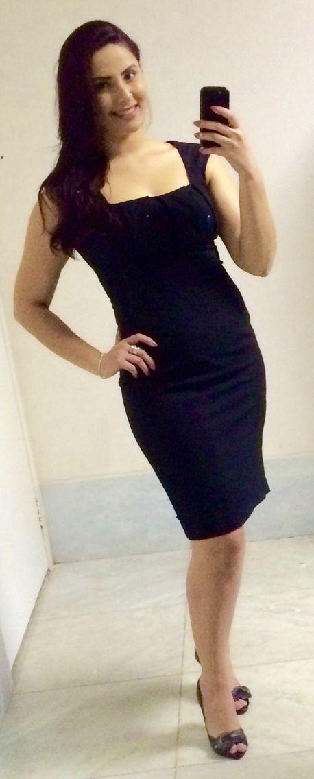 Vestido preto!
