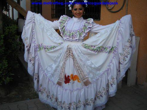 Vestido Aguascalientes Traje De Aguascalientes Folc