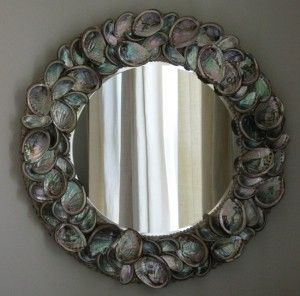 Beautiful Mirror abalone shell mirror ~~ beautiful | share your craft | pinterest