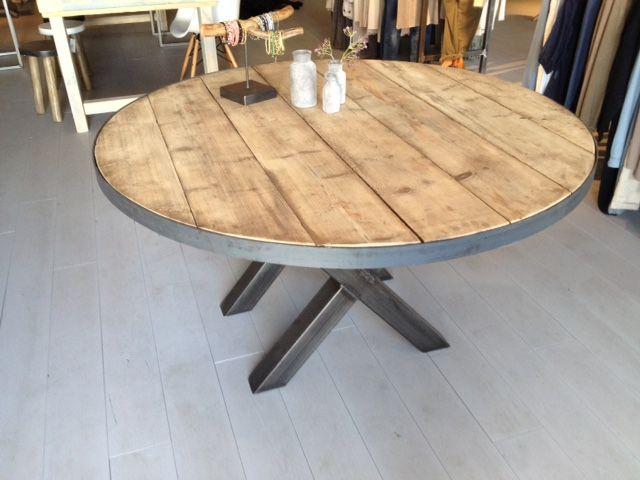 10x Ronde Salontafel : Tafelpoot ronde tafel