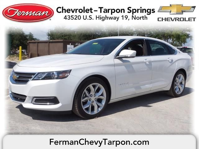 2015 Chevrolet Impala 2lt Iridescent Pearl Tricoat Pearl White