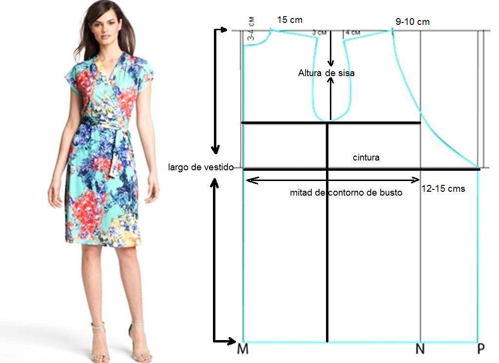 Paso A Paso Como Hacer Un Vestido Sencillo Vestido Costura