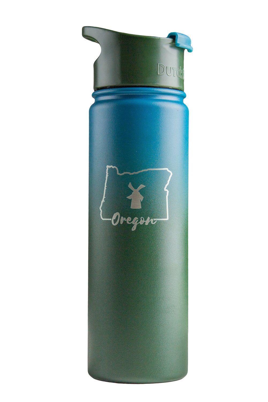 db9f5032bf Dutch Flow Insulated Bottle - Oregon   Dutch Bros in 2019   Bottle ...
