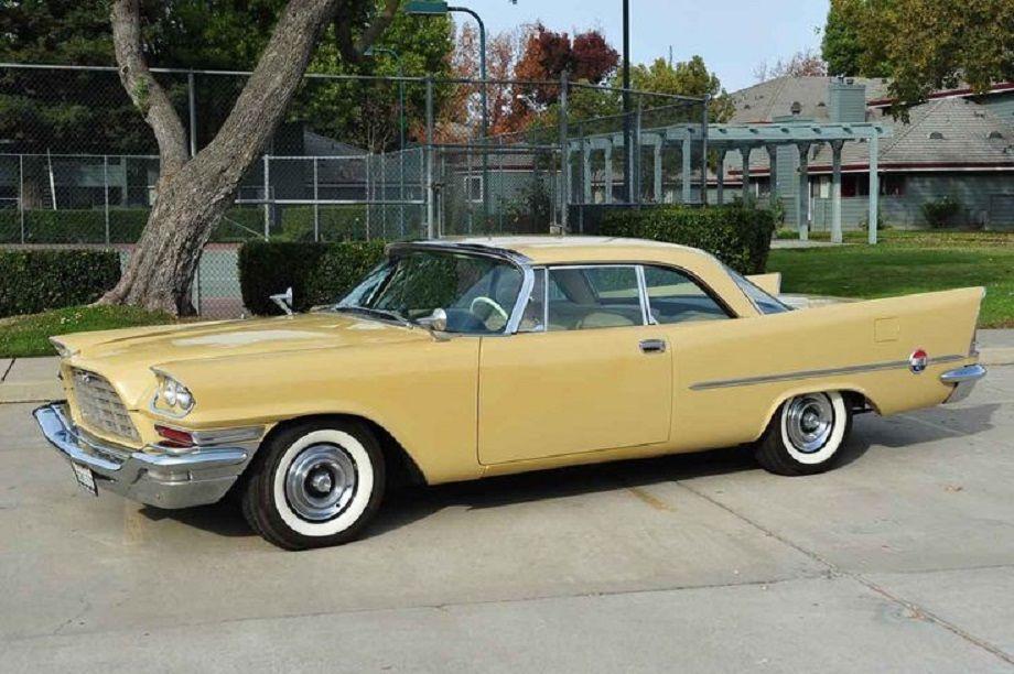 1957 chrysler 300c hemi yellow 2 door hardtop classic for 1957 dodge 2 door hardtop