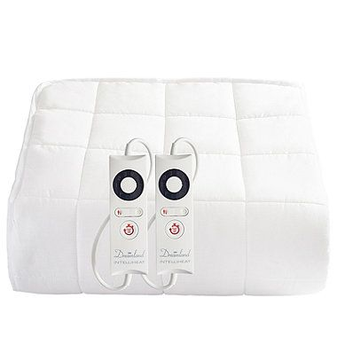 Dreamland Heated Mattress Protector Quilted Cotton Dual Control Super King From Lakeland Mattress Protector Electric Blankets Protector