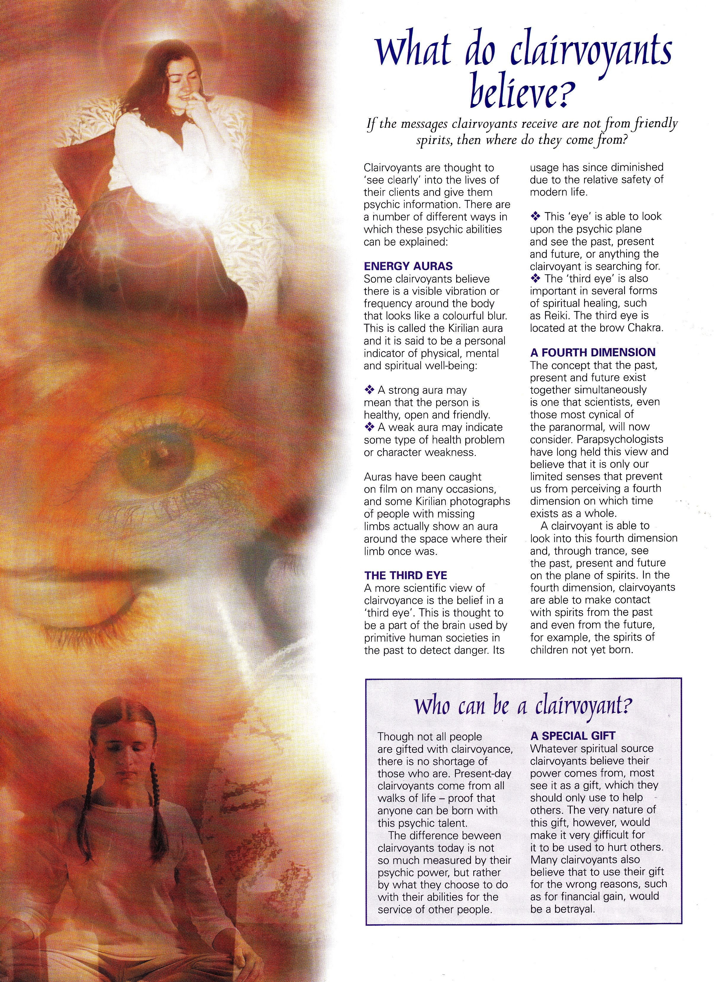 Divination: What Do #Clairvoyants Believe?