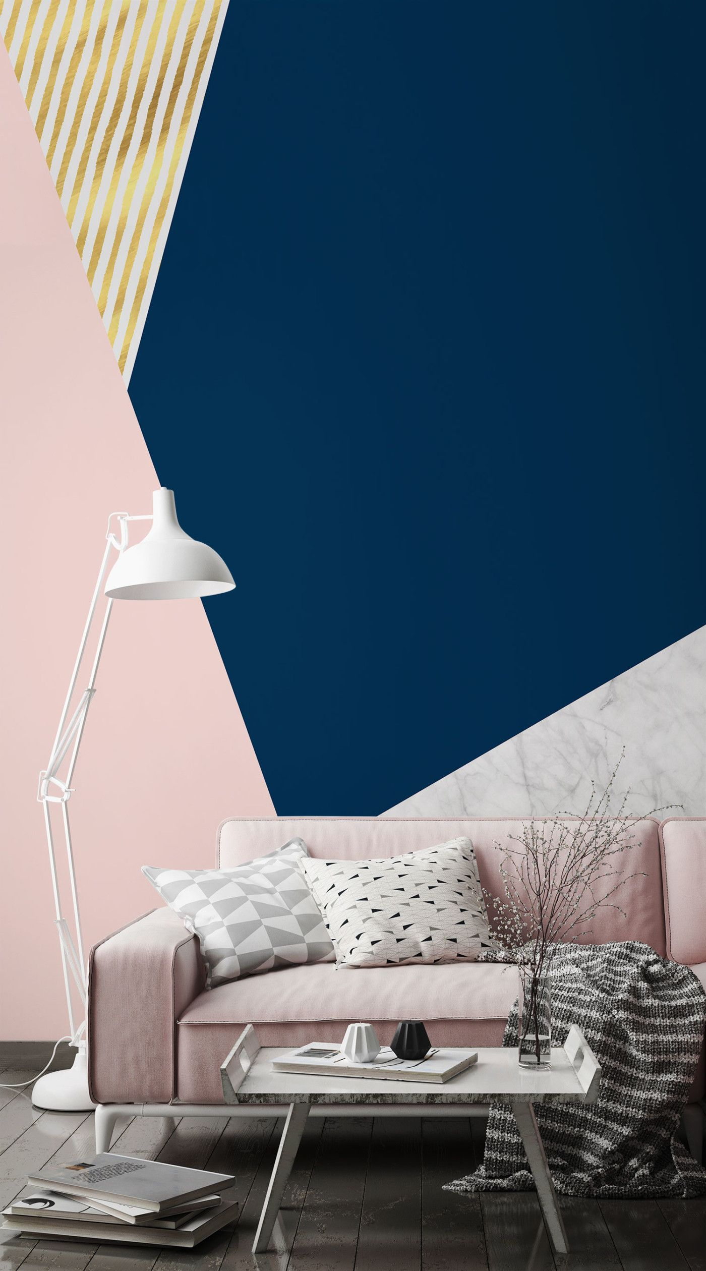 Modernise your home with these cutting-edge Geometric Wallpaper Murals   Murals Wallpaper & Modernise your home with these cutting-edge Geometric Wallpaper ...