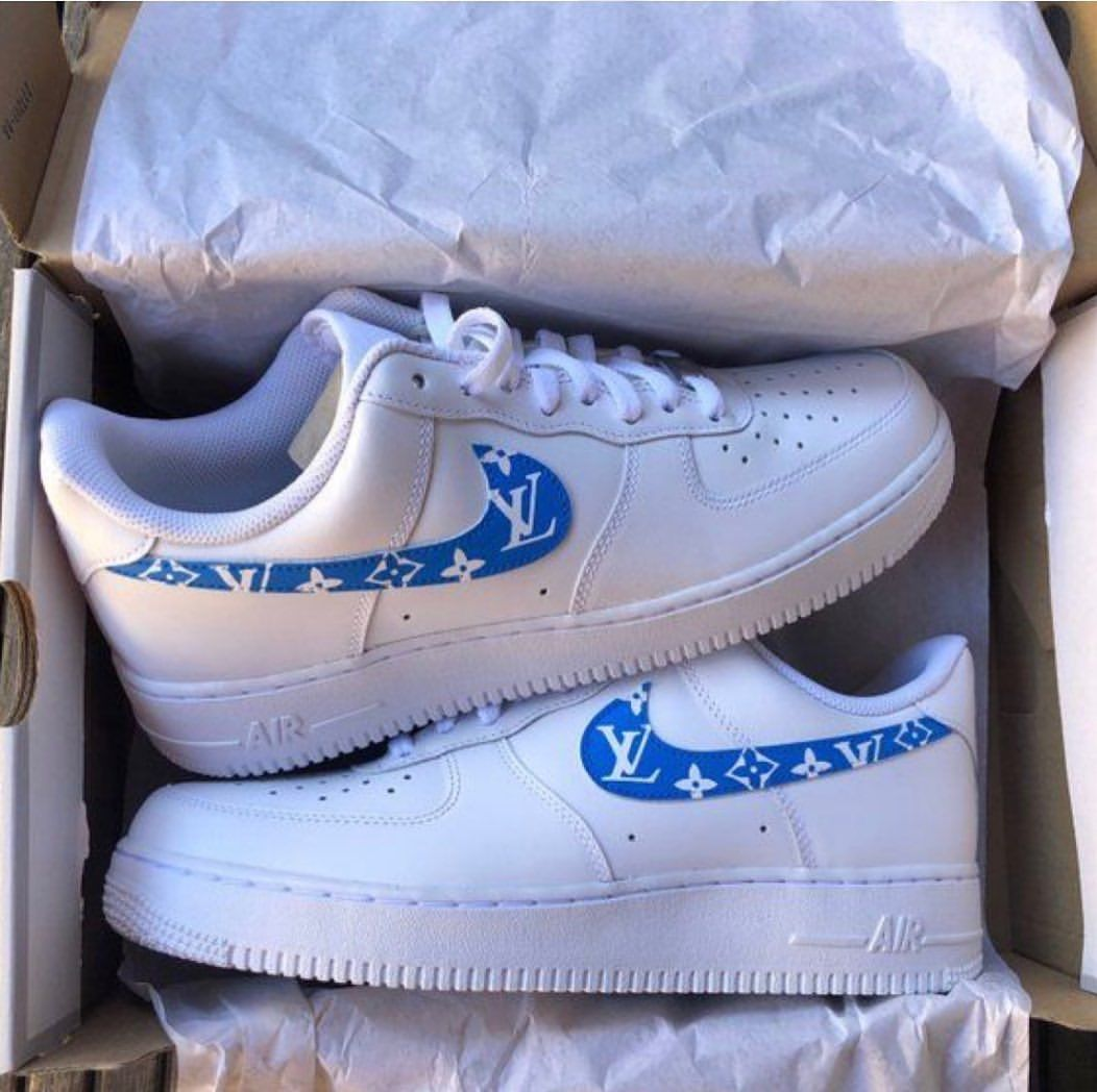 Nike Air Force 1 Low Canvas Baby Blue · Fresh sneakers and