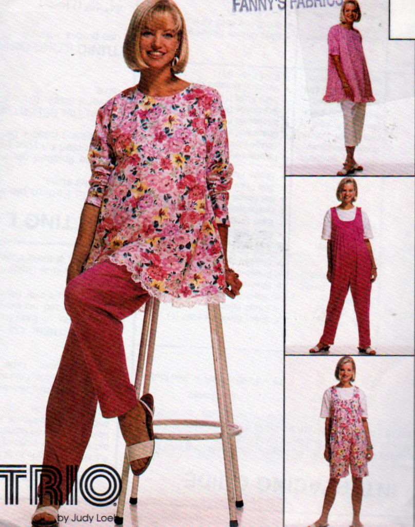 Maternity sewing pattern tunic pull on pants jumpsuit in 2 maternity sewing pattern tunic pull on pants jumpsuit in 2 lengths misses plus sizes mccalls select a size pattern by onceuponanheirloom on etsy jeuxipadfo Choice Image